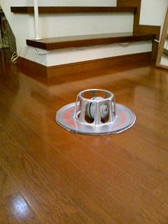 """床掃除ロボット""""ロボモップ""""w"""