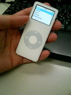 iPod nano キタ━(゚∀゚)━!!