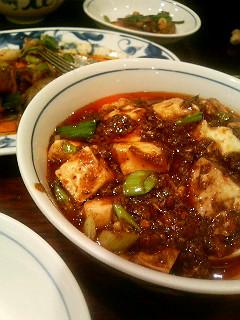 陳麻婆豆腐&クンニバトン