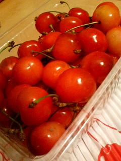 Sato-Nishiki cherries