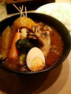 パリパリ知床鶏と野菜@代官山Suage