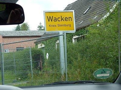 Wacken 2009:出発~1日目