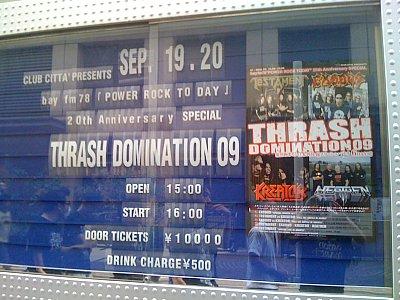 THRASH DOMINATION 09