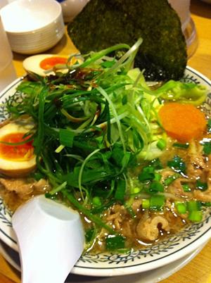 野菜肉そば@丸源ラーメン静岡インター店
