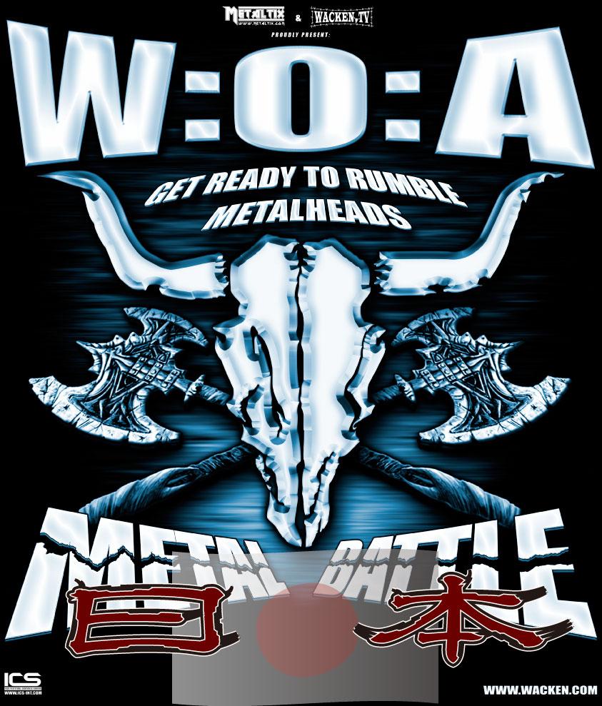 W:O:A Metal Battle Japanの応募は明日までよん